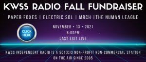 KWSS Fall Fundraiser info